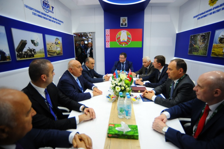The heads of military-industrial agencies of Azerbaijan and Belarus discussed military-technical cooperation issues