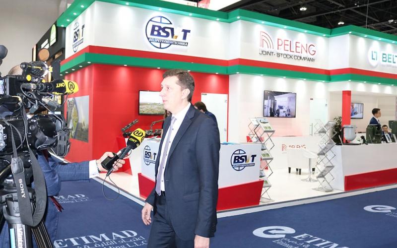 ГВТУП «Белспецвнештехника» приняло участие в 14-ой международной выставке и конференции оборонной промышленности «IDEX 2019» (ОАЭ, Абу-Даби)