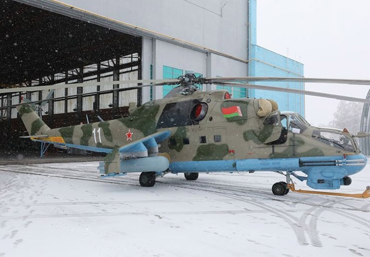 "The third military helicopter was repaired by specialists of JSC ""Orsha Aircraft Repair Plant"""