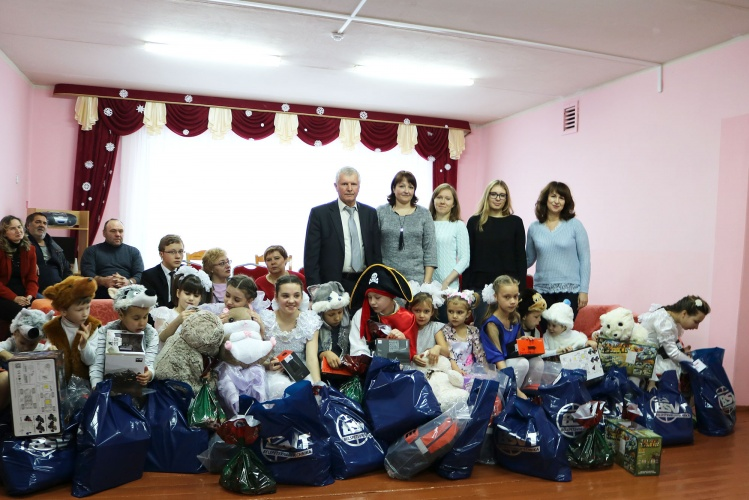 "New Year Charitable Action ""Our Children"""