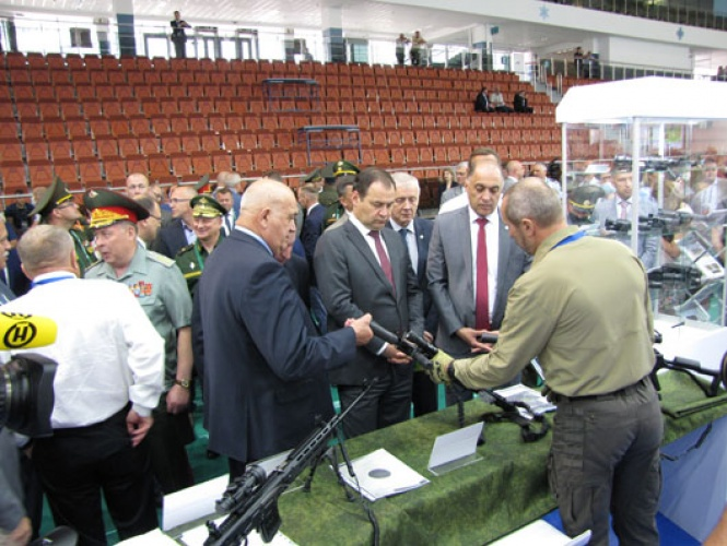 New Innovative Belarusian Made Small Arms and Ammo were presented at the Exhibition MILEX-2021