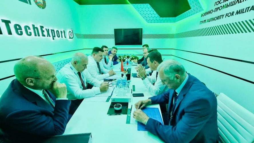 Belarusian aircraft repair companies and National Aviation Service Company (NASK JSC) discussed the cooperation model