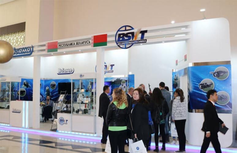 "GVTUP ""Belspetsvneshtekhnika"" took part in the official opening ceremony of the 9th international exhibition CAIPS-2017 / Securika Central Asia (Tashkent, Uzbekistan)"