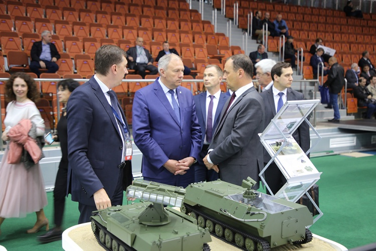 On the second day of MILEX-2019, Prime Minister of the Republic of Belarus Sergei Rumas visited the exhibition