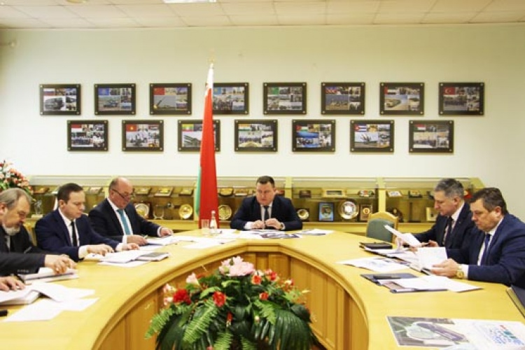 Minister of State Authority for Military Industry Held Working Meeting On Preparation For Milex-2021 Expo